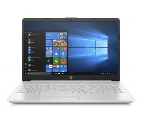 HP 15s du0120tu 15.6-inch Laptop (8th Gen i3-8145U/4GB/1TB HDD/Windows 10/Intel UHD 620 Graphics), Natural Silver