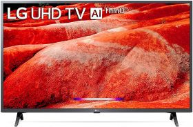 LG 126 cms (50 inches) 4K Ultra HD Smart LED TV 50UM7700PTA | with Built-in Alexa (Ceramic Black) (2019 Model)