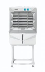 Symphony  Air cooler Jumbo 45DB 41litres Double blower with trolley(white)