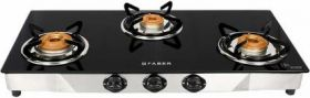 Faber Jumbo 3BB SS Stainless Steel Manual Gas Stove  (3 Burners)
