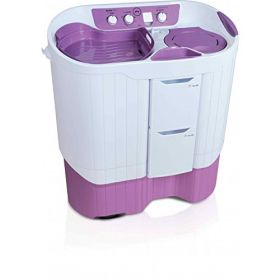 Godrej WS EDGE PRO 900 ES 9.0 kg Semi Automatic Washing Machine (Lilac Sprinkle)